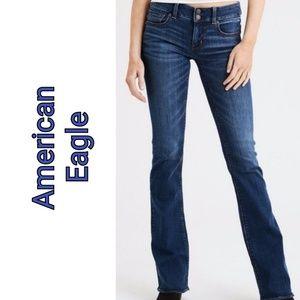 AE Artist Stretch Jeans, Size 0 Women's